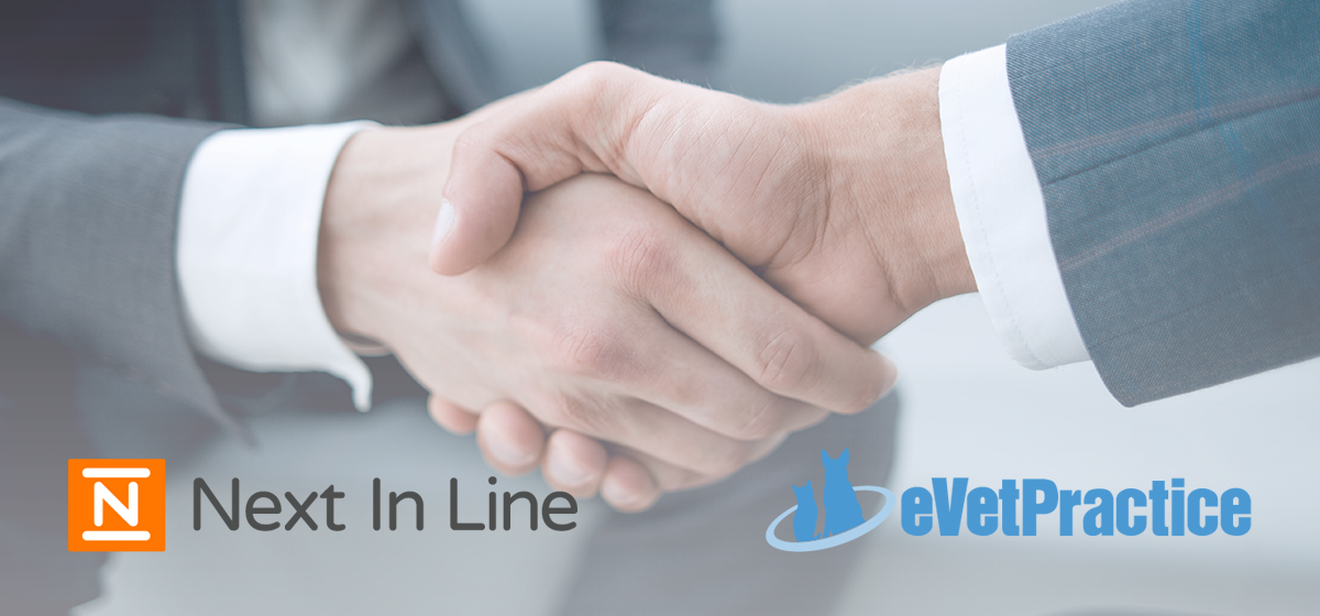 Next In Line and eVetPractice Partnership