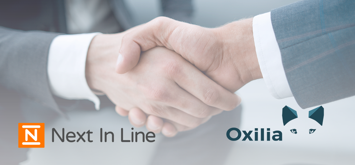 Next In Line and Oxilia Partnership